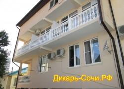 Адлер. Гостевой дом по ул. Богдана Хмельницкого 36